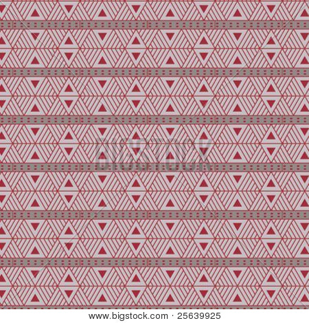Seamless, triangular vector pattern.