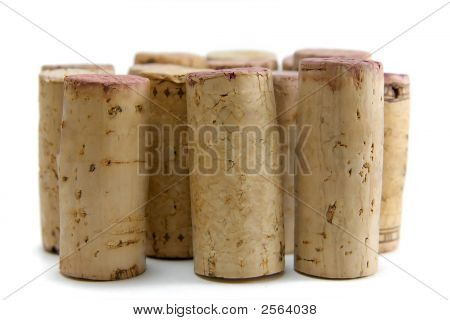 Group Of Wine Corks