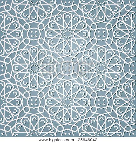 background with pattern in Arabian style