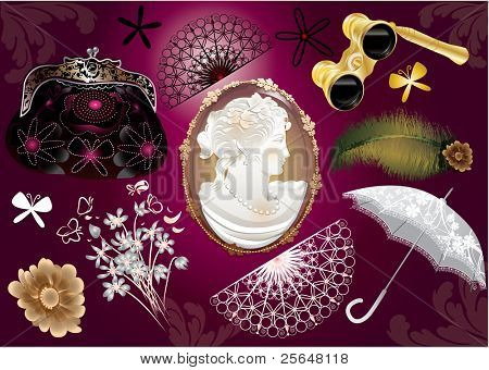 Victorian lady set