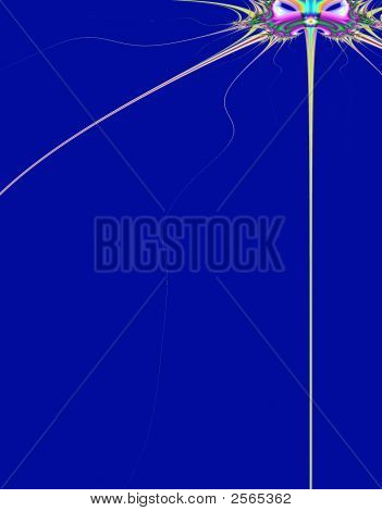 Abstract Mask Background