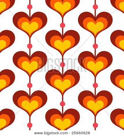 Heart shaped background