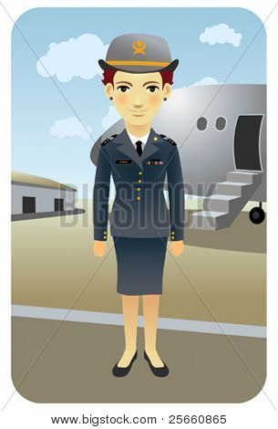Profession series: Flight attendant - Visit our gallery for more professions.