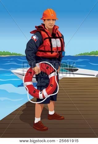 Profession set: lifeguard
