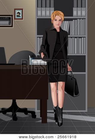 Profession set: secretary
