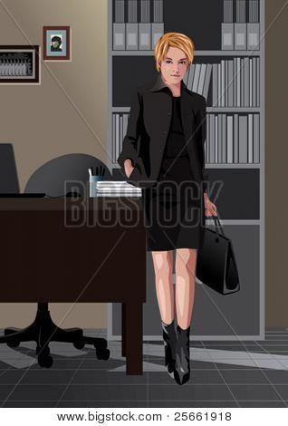 Profession set: secretary