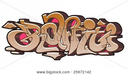 Graffiti hip hop urban design
