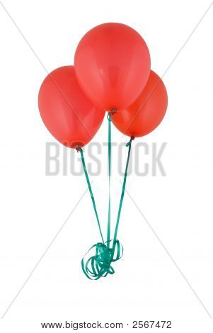 Bunch Of Red Baloons