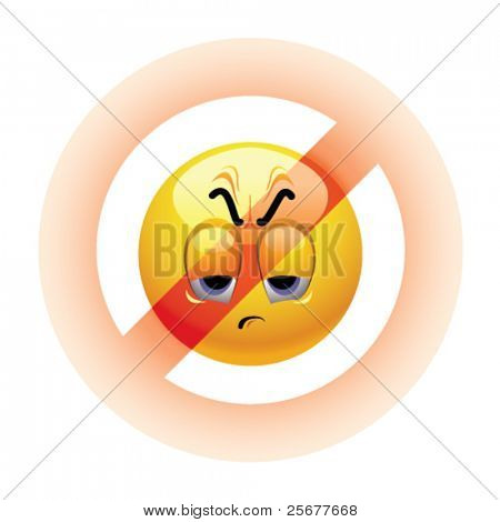 Angry Smiley ball being banned