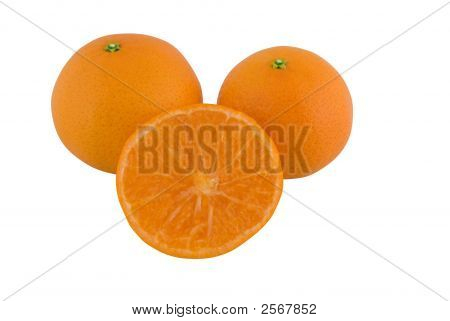 Tangerine, Satsuma Or Mandarin Orange