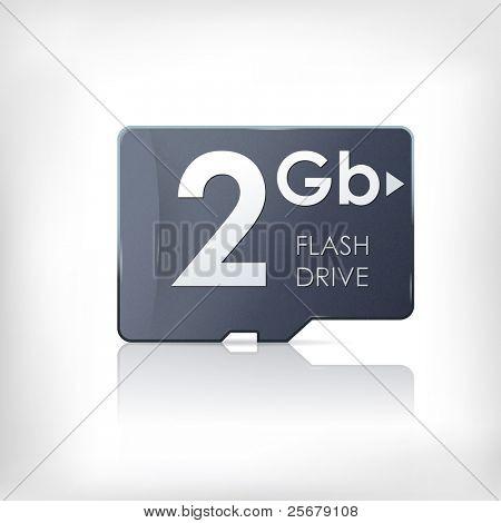 SD memory flash card