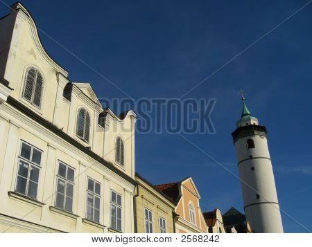 Historical Buildings With Watch Tower