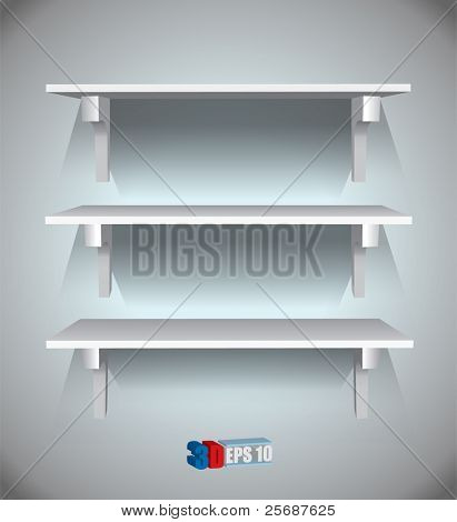 Vector shelves