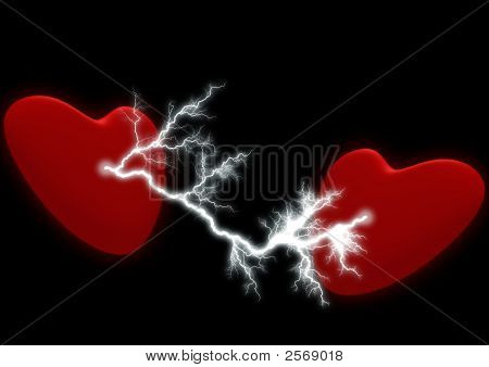 Two Hearts With The Electric Discharge