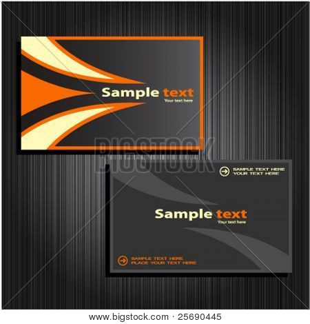 business cards set 31