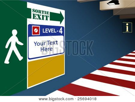 Exit from underground parking