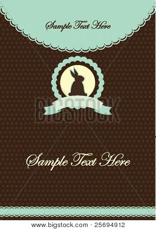 Cute rabbit template 02