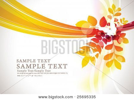 abstract flora background 08