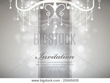 Luxury Chandelier background 03