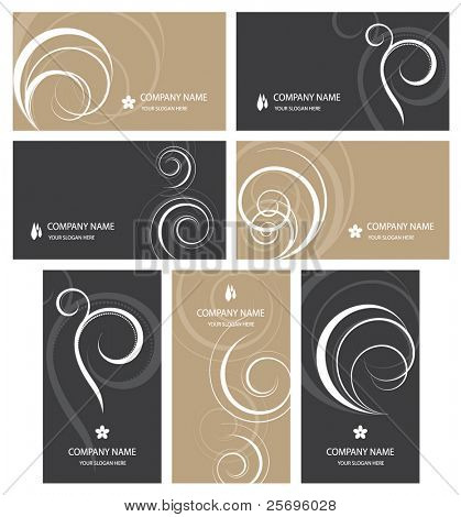 7 elegant business cards templates