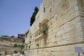 pic of tora  - wailing western wall - JPG