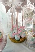 Sweets, Lollipops, Pastel Colors, Dessert, Sweets, Table With Sweets poster