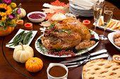 Pepper Turkey For Thanksgiving poster