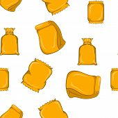 Pack Pattern. Cartoon Illustration Of Pack Pattern For Web poster