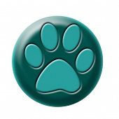 Pawprint Button