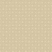stock photo of swastik  - A beige vector pattern made with swastika - JPG