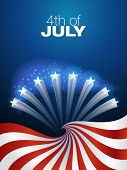 image of patriot  - 4th of July independence day background - JPG