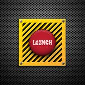 pic of nuclear bomb  - Launch button - JPG