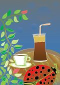 pic of frappe  - wake up  frappe coffee - JPG