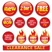 image of free-trade  - Sale stickers  - JPG