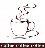picture of coffee cups  - coffee cup - JPG