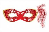 stock photo of masquerade mask  - carnival mask - JPG