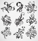 flower ornament vector pattern