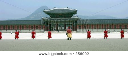 Guarding Gyeongbok Palace
