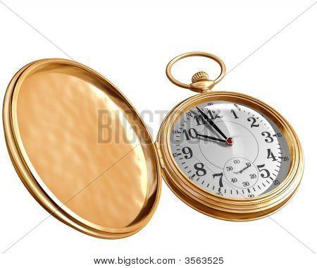Open Pocket Watch