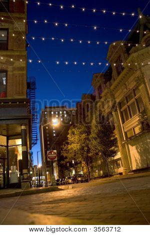 Calles de la ciudad de Providence
