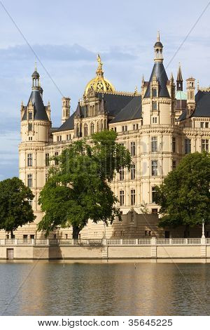 Castle at Schwerin, seat of the Mecklenburg-Vorpommern parliament