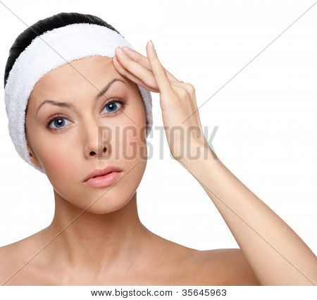 poster of Planning a facelift, isolated, white background