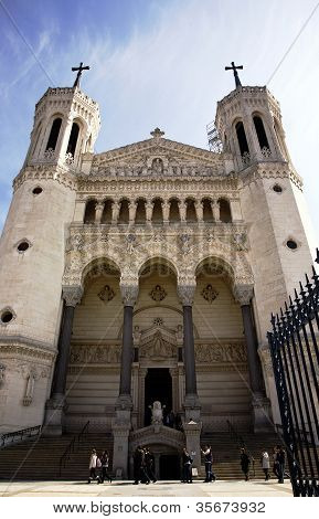 Notre Dame De Fourviere, Lyon