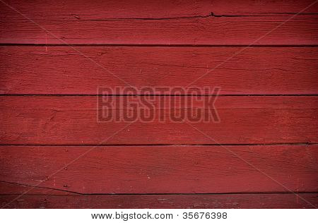 Red Boards Background