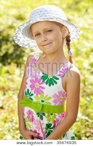 Charming Blonde Girl