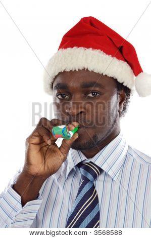 Businessman Festive Holiday