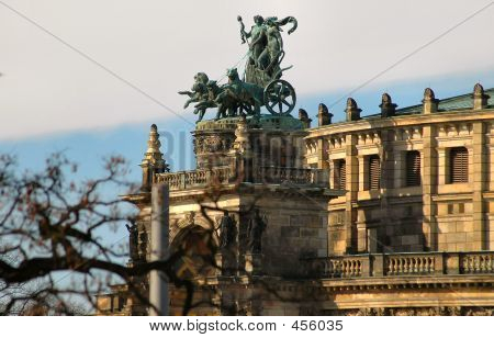 Chariot In Dresden, Germany