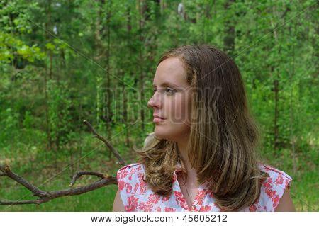 Looking Girl