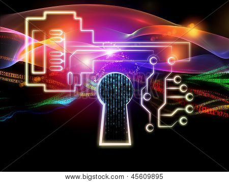 Lights Of Encryption