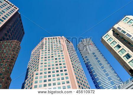 High Modern Skyscrapers
